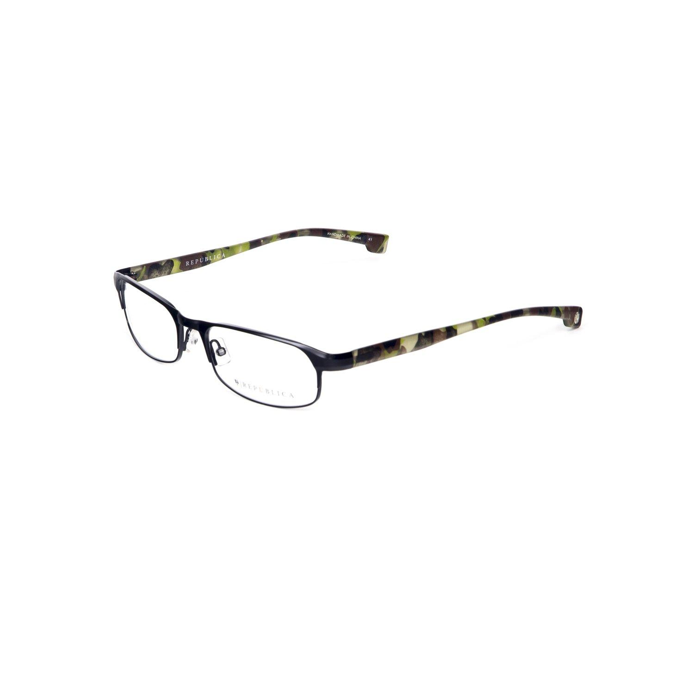 Republica Men\'s Vieques Eyeglass Frames 57mm Black at Amazon Men\'s ...