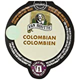 Van Houtte Colombian Single Serve Keurig Certified K-Carafe pods for Keurig brewers, 8 Count