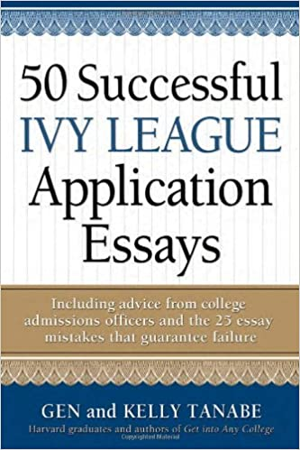The Yellow Wallpaper Character Analysis Essay  Successful Ivy League Application Essays Gen Tanabe Kelly Tanabe   Amazoncom Books English Essays On Different Topics also English Essay Ideas  Successful Ivy League Application Essays Gen Tanabe Kelly  Thesis In Essay