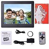 Digital Photo Frame Digital Picture Frame Video Frame Player Hi-Res 8 inch Black