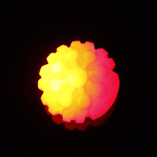 Decdeal - Pelota Luminosa para Perros, Juguete para Perros con luz ...