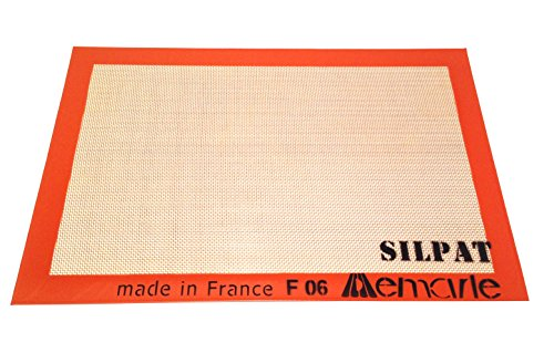 Silpat Non-Stick Silicone Jelly Roll Pan Baking Mat, 11
