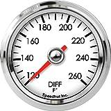 Speedhut GL20-DT01 Diff Temperature Gauge 120-260F, 2-1/16''