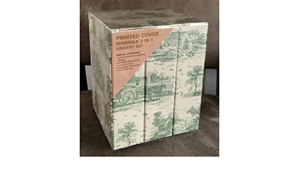 Amazon.com: Printed Cover Minimax 3 in 1 Library Set: Arts And ...