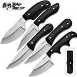 Cheap Ridge Runner 5-Piece Black Wooden Knives Set