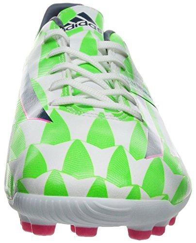 adidas Bota F10 TRX AG Core white-Rich blue-Solar green Core white-Rich blue-Solar green