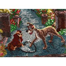 M C G Textiles 52764 Lady and The Tramp Latch Hook Kit