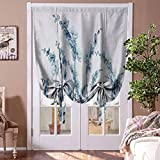 Roman Shades for Windows Flower Tie Up Balloon