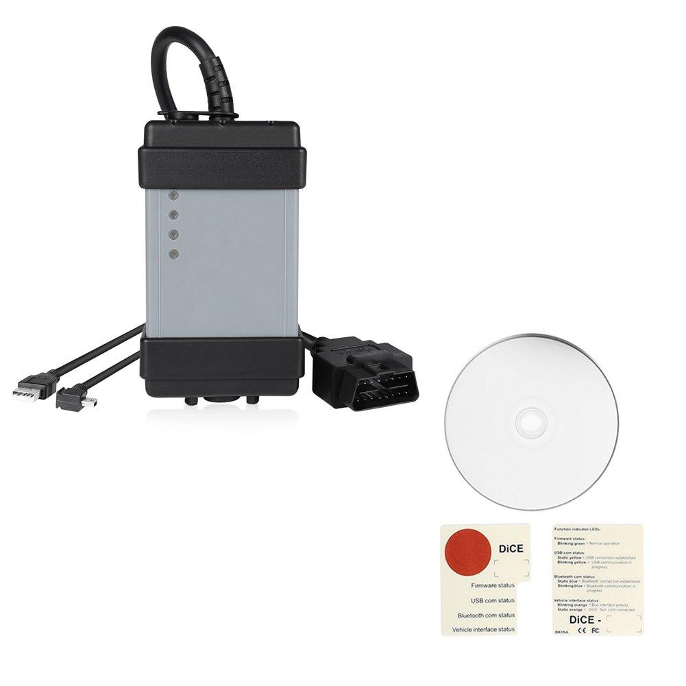Pettstore VOLVO VIDA DICE Auto Car Vehicle Code Reader Scanner OBD2 Diagnostic Scan Tool (VOLVO VIDA DICE, black)