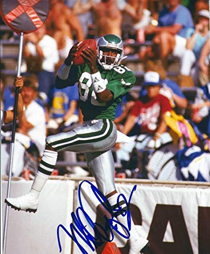 pretty nice d0571 3acec Autographed Signed Mike Quick 8x10 Philadelphia Eagles Photo ...