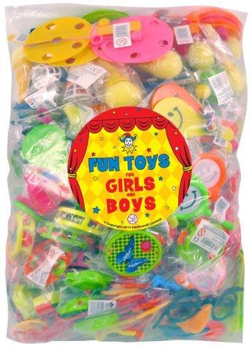 Bulk party bag Toys – 100 assortiti Deluxe regalino Toys – Pinata 3-Pack Multi