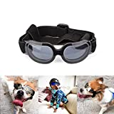Biowow Small pet Sunglasses,Stylish and Fun Pet/Dog Puppy UV Goggles Sunglasses Waterproof Protection Sun Glasses for Cat and Small Dog (Black)