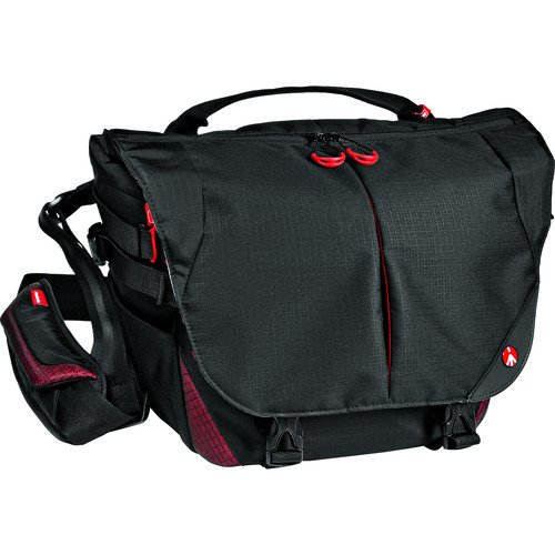 Manfrotto Bumblebee M-10 PL, Messenger Pro Light, Black, Compact (MB PL-BM-10) by Manfrotto