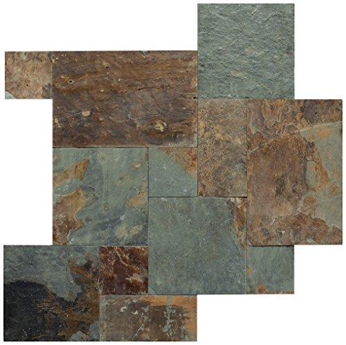 Dal-Tile S781PATTERN1P Slate Tile Mongolian Spring x 6 9/16