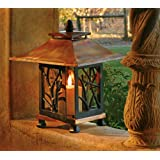 H Potter Pantheon Decorative Candle Lantern Patio Tabletop Candle Holder Indoor Outdoor