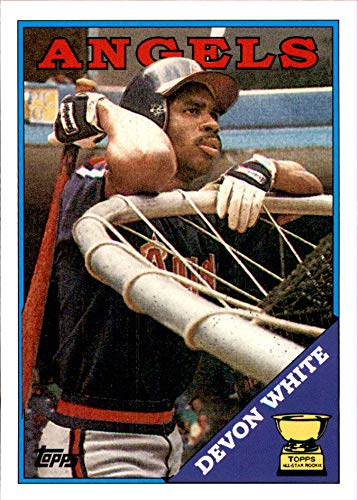 2005 Topps Rookie Cup REPRINTS #62 Devon White 1988 CALIFORNIA ANGELS
