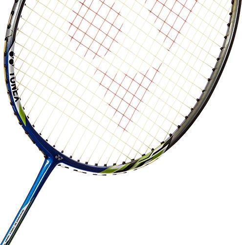 Yonex Nanoray 6000i Aluminum Alloy Strung Badminton Racquet  Blue  Badminton Racquet