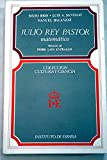 img - for Julio Rey Pastor, matema tico (Coleccio n Cultura y ciencia) (Spanish Edition) book / textbook / text book