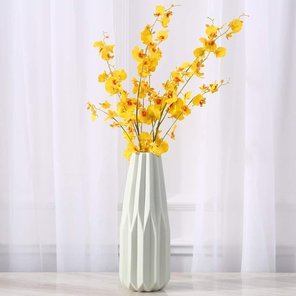 HBJP コーヒーテーブルのテーブルのフラワーアレンジャーに適したシンプルで創造的なセラミック花瓶の装飾 花瓶 (サイズ さいず : 13cm*34.5cm) B07S3YHHC7  13cm*34.5cm