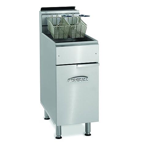 Amazon.com: Imperial – ifs-40 – 40 lb Gas freidora Comercial ...
