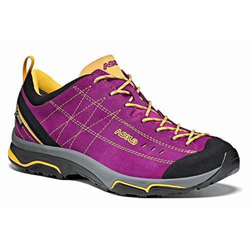 (Asolo Women's Nucleon GV Hiking Shoe Verbena/Yellow - 8.5)