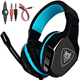 NO-3000 Surround Stereo Professional Gaming Headset Over-the-Ear Noise Isolating Bass Headphones with Microphone Volume Control for PC, Computer, Smartphones, Laptop, PS4,iPad Review