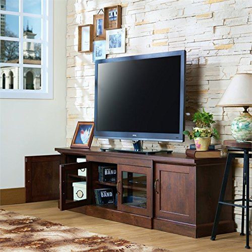 Furniture of America Margot 68.5'' TV Stand in Vintage Walnut by Furniture of America