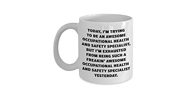 amazon com occupational health and safety specialist mug gift for