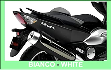2 Autocollants//Stickers en R/ésine 3D Lettrage Tmax pour Scooter Moto X Yamaha T Max 500-530 Pseudo Carbone