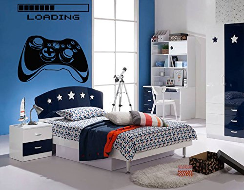 Amazon Com Gamer Wall Decal Gamer Decals Xbox Loading Decal
