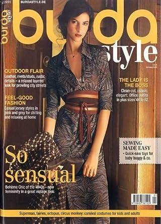 Burda Style - English ed  Amazon.com  Magazines f957f75d6fa9