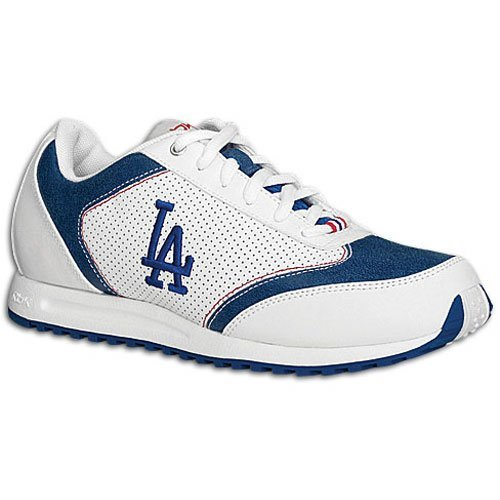(Reebok Women's MLB Dodgers Talent Sneaker,White/Blue/Red,7.5 M)