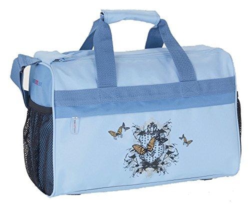 TAKE IT EASY Sporttasche Tasche Kindertasche WIEN 28400354158 BUTTERFLY HELLBLAU