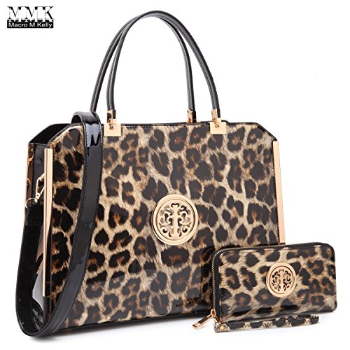 MMK collection Women Fashion Matching Satchel handbags with wallet(6900)~Designer Hobo Purse ~Multi Pocket ~ Beautiful Designer tote Handbag Set (01-6900-LP)