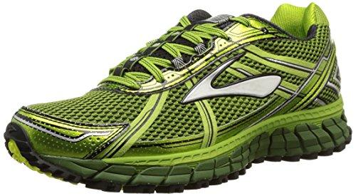 Brooks Adrenaline ASR 12 Trail Running Shoe - Men's Avocado/Black/Green Garden 12