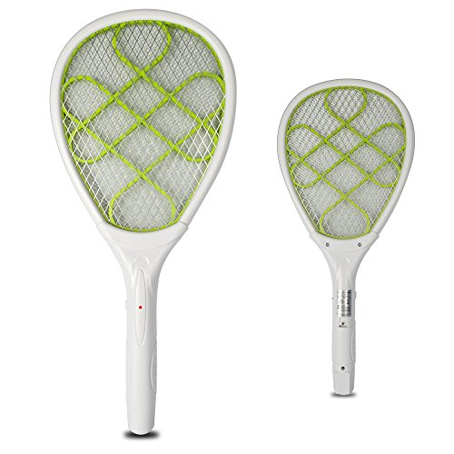 Yongtong 2-Pack Electric Mosquito Swatter, Portable Bug Z...