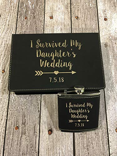 I survived My daughter's Wedding, Father of the Bride gift, Wedding favor, Father of the bride, Mother of the bride by Vital Signs NW
