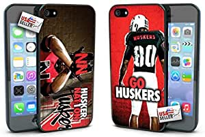 Nebraska Cornhuskers Go Huskers Hard Case TWO PACK for iPhone 5/5s