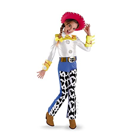2b45ed80bcace Disfraz de Jessie Toy Story para niña - 7-8 años  Amazon.es ...