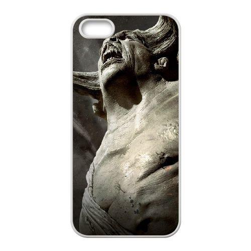 Wrath Of The Titans 8 coque iPhone 4 4S cellulaire cas coque de téléphone cas blanche couverture de téléphone portable EOKXLLNCD20802