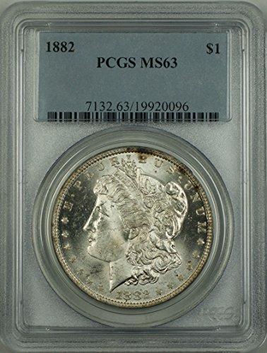 1882 No Mint Mark Morgan Dollar PCGS MS-63
