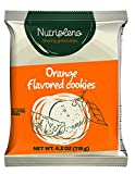 Nutripleno Integral Healthy Cookies Vegan Gluten FREE Milk FREE Egg FREE Orange 4.2 Ounce (Pack of 10)