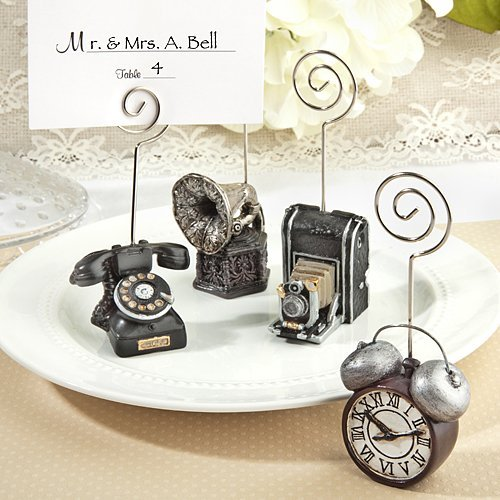 Assorted Vintage Design place card holders - 19 count