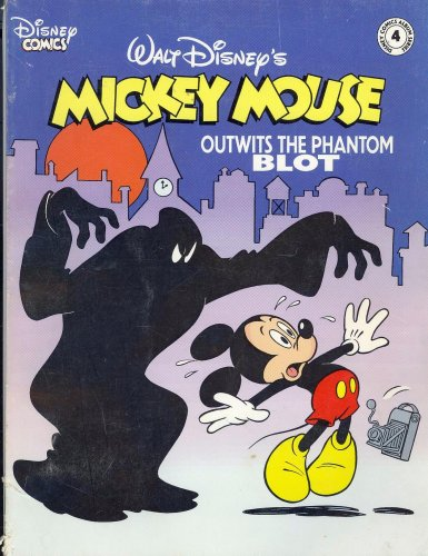 Mickey Mouse Outwits the Phantom Blot (Disney Comics Album Series, Volume 4)