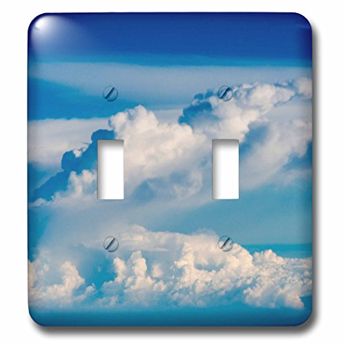 Danita Delimont - Clouds - Aerial view of clouds, Indonesia - Light Switch Covers - double toggle switch (lsp_225818_2) by 3dRose