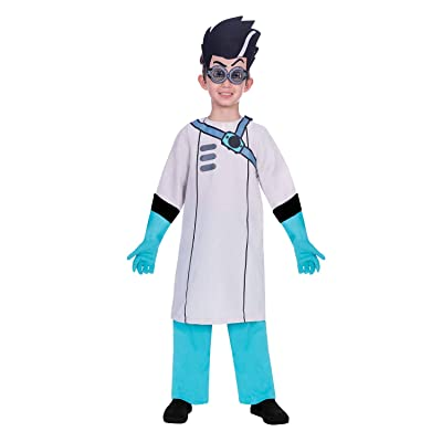 Boys Official PJ Masks Genius Romeo Villain Anti Hero TV Book Film Show Character Fancy Dress Costume Outfit: Clothing