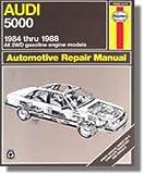 H15026 Haynes Audi 5000 1984-1988 Auto Repair Manual
