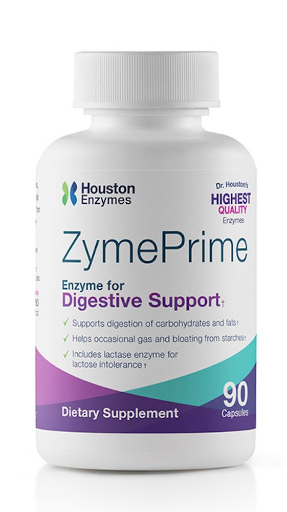Houston Enzymes Zyme Prime - 90 capsules w/ cellulose filler (SCD)