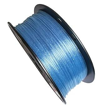 OMAS Crystal PLA - Impresora 3D azul brillante de 1,75 mm ...