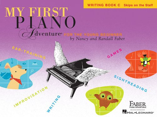 My First Piano Adventure: Writing Book C (Piano Adventure's)